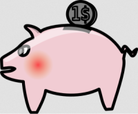 Need to retire piggy bank.