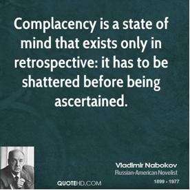 Complacency-Nabokov